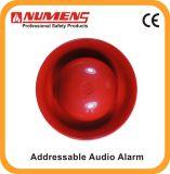 Segnalatore d'incendio di incendio intelligente, audio/allarme visivo indirizzabile, colore rosso (640-001)