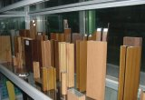 Grain de madeira Aluminium Profiles de Wooden Color Aluminium Profiles