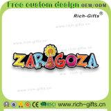 Ricordo promozionale personalizzato Zaragoza (RC-ES) dei magneti del frigorifero della decorazione dei regali a casa