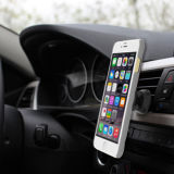 De magnetische Auto zet de Convexe Tribune van het Geval van de Telefoon met iPhone op