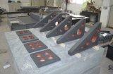 Grilles de tabulation de grand dos de granit de haute précision