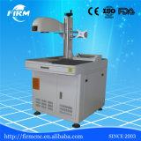 Высокий гравировальный станок маркировки лазера волокна Precission