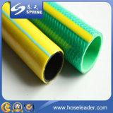 Tuyau de jardin en PVC tressé en fibre de couleur
