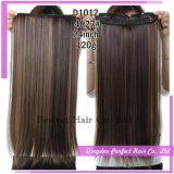 Clip americana delle donne di colore nelle estensioni dei capelli umani