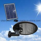 Im Freien Pfad-Wand-Landschaftsmontierungs-Garten-Zaun-Lampen-Licht der Sonnenenergie-LED