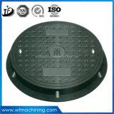 En124 C250の延性がある鉄の床ドレンカバーかマンホールの重量またはマンホールの鋳鉄または下水道の版カバーまたは道のために砂型で作るカスタム下水管カバーまたはカバー下水管