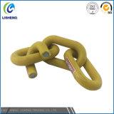 Keten van de Link van de Veiligheid van de Prijs van de fabriek de Plastiek Met een laag bedekte