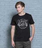 100% camisa apta impresa algodón modificada para requisitos particulares de la buena calidad para los hombres