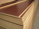 18mm Cherry Melamine MDF Board /Raw MDF