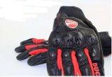 Schützender Fall-Handschuh, der Handschuh-Motorrad-Handschuh-ledernen Handschuh läuft