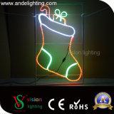 2D Lumières de motif de rue de Noël DEL de lumière de motif de DEL pour des décorations de Pôle