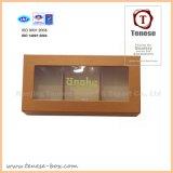 Boîte-cadeau rigide de laminage mat pour le chocolat