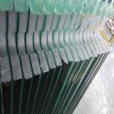 vidro Polished Tempered desobstruído de 10mm para a porta do chuveiro