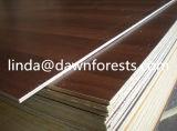 o papel da melamina de 17mm enfrentou a madeira compensada
