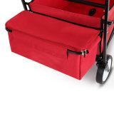 Plegable carro con el pabellón del jardín de viajes Utilidad de la compra plegable al aire libre Patio Inicio