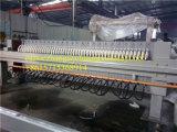 Pressa del filtro a piastra per lo stabilimento di trasformazione di acqua di scarico