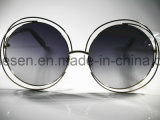 Óculos de sol relativos à promoção de Acenate da forma do logotipo feito sob encomenda por atacado