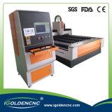 Máquina de estaca do laser da fibra do elevador da exatidão elevada para o metal