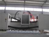 Router giratório de 4 trabalhos do CNC do enlace da linha central