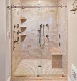 Accesorios de la cabina de la ducha - puerta deslizante automática/puerta deslizante de cristal (YK-A001)