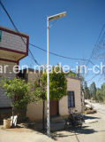 Residential Area 의 Pathway Motion Senor 6W Outdoor Solar Street Light 6W Solar 정원 Light를 위한 태양 LED Light