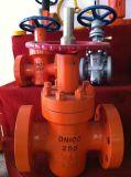 Valvola a saracinesca motorizzata del dispositivo di tenuta a pressione dell'ANSI