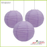 Wedding를 위한 사건 Solid Color Decorative Round Paper Lantern