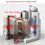 High Efficiency를 가진 정전기 Powder Coating Machine