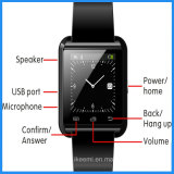 U8 Wrist Smart Digital Health Automatique Suunto Watch Mobile Phone avec Bluetooth