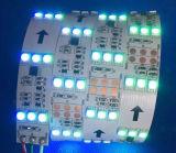 Indicatori luminosi bianchi flessibili del silicone di DC24V IP68 LED 5050 LED