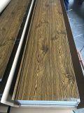 El panel de emparedado del poliuretano usado para las casas prefabricadas de la estructura de acero, edificios, chalets