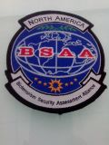 北アメリカの刺繍は記章を付けるカスタム軍隊パッチ(GZHY-PATCH-002)に