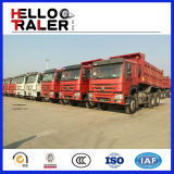 Caminhão de descarga HOWO do carregamento do auto da tonelada 15m3 de HOWO 6X4 25