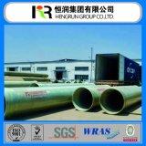 Tubulação de GRP/FRP com certificados de Wras