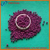 Alumina Namno4 ativada permanganato da purificação 12% do ar