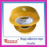 Nastro adesivo del Tan dell'imballaggio del pacchetto di Sellotape del nastro della macchina del grande rullo BOPP