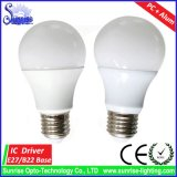 Alto bulbo del lumen 5With7With9With12With15W E27 LED con el Ce RoHS