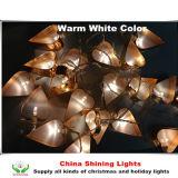 La stringa vuota popolare di figura LED del cuore del metallo illumina la decorazione di festa della festa nuziale