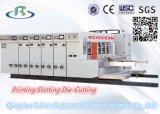 Impression à l'encre à grande vitesse automatique de l'eau et machine de découpage (entaillage)