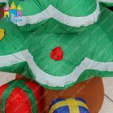 イベントLEDの軽く巨大で膨脹可能なクリスマスのサンタの木の装飾