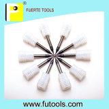 Herramientas que muelen del diámetro dos de las flautas de la nariz cuadrada espiral micro de la bola