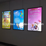 Super Slim LED Magnetic Frame Publicidade Display Light Box
