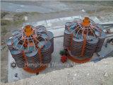 De Spiraalvormige Helling van het Fiberglas van Shicheng van Jiangxi voor het Erts van het Hematiet