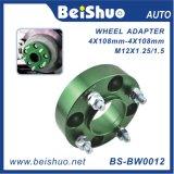 Naben-zentraler Rad-Adapter und Distanzstücke mit Probe Avalible
