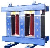 Le faisceau amorphe triphasé de trois fléaux comprennent serrer l'élément du transformateur sec