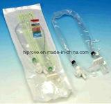 Ht-0515 Hiprove het Merk CE&ISO keurde de Medische Rang Gesloten Catheter van de Zuiging goed