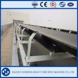 Sistema de cinta transportadora industrial en la planta de acero de la minería del carbón