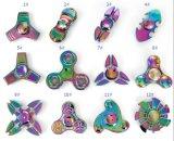 Regenbogen-Metallunruhe-Spinner ohne Umdrehung der Geräusch-3-5minutes