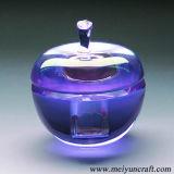 laser 3D che incide i ricordi del blocchetto del cubo di cristallo per il regalo