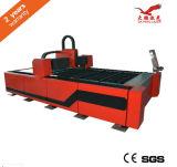 Цена автомата для резки лазера волокна CNC изготовлений 500W 1000W машины